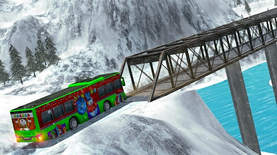 Off-Road Hill Bus Driving 2017 Screenshot