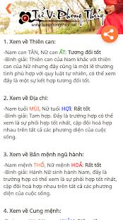 Xem Tuoi - Tinh Duyen Vo Chong - náhled