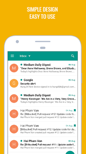 easymail - easy & fast email screenshot 3