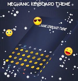 Mechanic Keyboard Theme - náhled