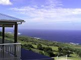 Photo: Vue sur l'océan et une partie de la terrasse