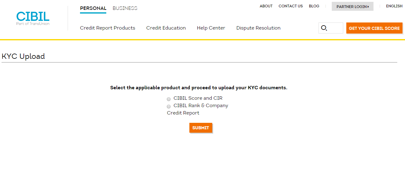 CIBIL KYC Upload - quikkloan