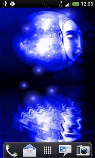 Full Blue Moon Live Wallpaper