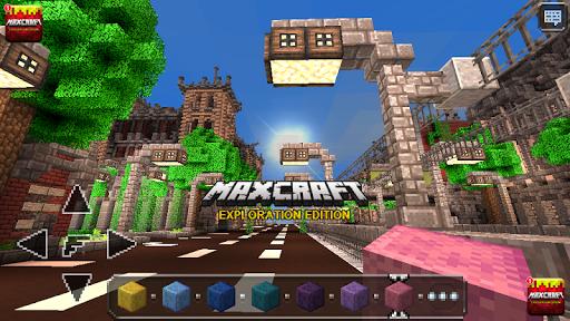 MaxCraft Crafting Adventure & Building Games Hry (APK) na stiahnutie zadarmo pre Android/PC/Windows screenshot