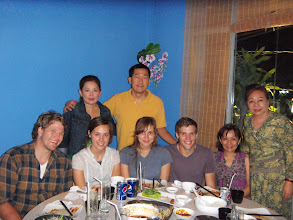 Photo: Dinner in Ho Chi Minh city with volunteers
