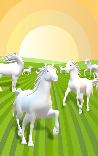 Horse Coloring Book 3D image   7