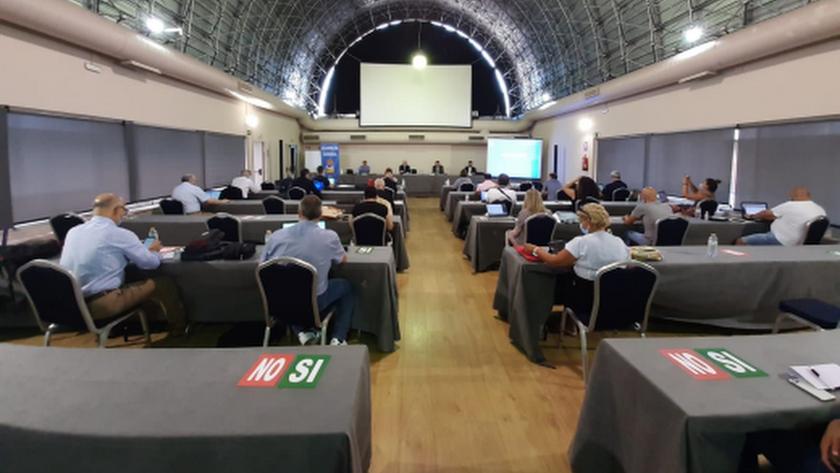 La asamblea de la RFEVBOL.