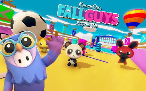 Knockout Fall Guys Royale 3D screenshot 8