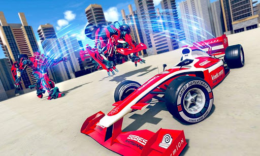 Formula Car Robot Transforming War: Robot Car Game 1.0.8 screenshots 2