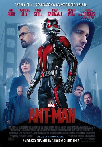 Polski plakat filmu 'Ant-Man'
