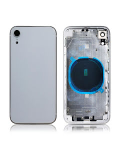 iPhone XR Back Housing without logo High Quality White