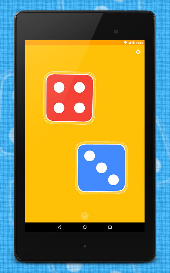 Dice App- screenshot