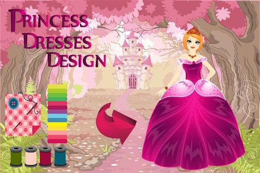 プリンセスドレスデザイン