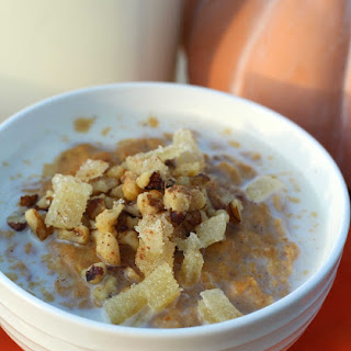 Oatmeal with Ginger and Pumpkin