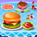Burger Maker Fast Food Kitchen Game icon