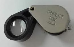 แบ่งของดี ใช้ดี ใสแจ๋ว แก้วแท้ สุดคลาสสิค วัดใจ 10 บาท กล้องส่องพระเลนส์แก้วแท้ *ใสแจ๋ว 10x USA TRIPLET ขนาดกระทัดรัด บอดี้สเตนเลส+พลาสติกสีดำ เลนส์ 14 มม.สินค้ามือ 1