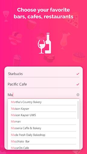 Firstep - match, chats, drinks 1.0.5 screenshots 1