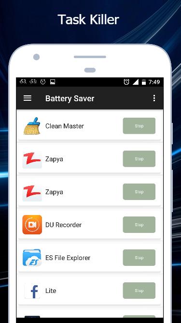 Battery Saver APK standard_fix16 screenshots 5