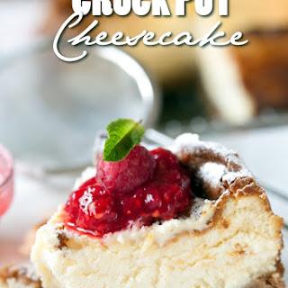 Crock Pot Cheesecake