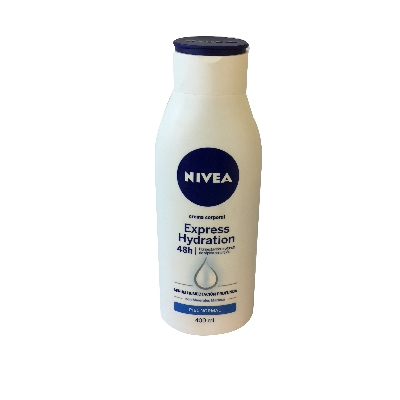 crema corporal nivea express hydra p/normal 400ml..