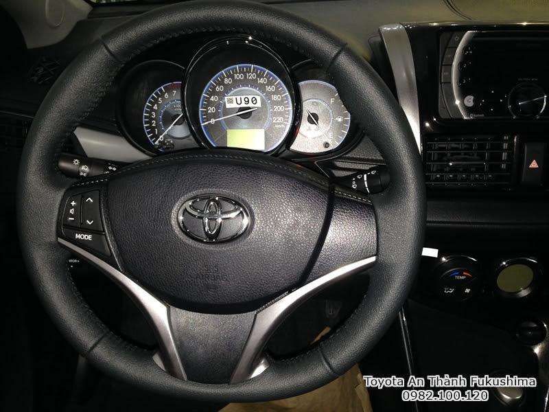 Khuyến Mãi Giá Mua Xe Toyota Vios 2016 1.5E Số Sàn Trả Góp 2