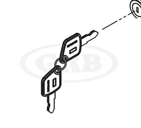 Nyckel till kassalåda TYP-A ER-SERIEN