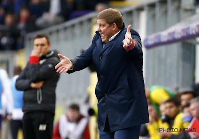 Hein Vanhaezebrouck a de meilleurs résultats avec Anderlecht qu'avec Gand