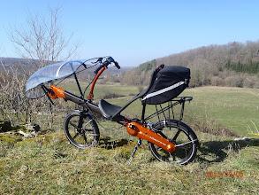 Photo: Sac Radical Design 20L avec batterie. Porte bagage