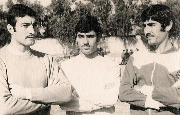 Julio Zapata, Antonio Criado y Roque Criado.
