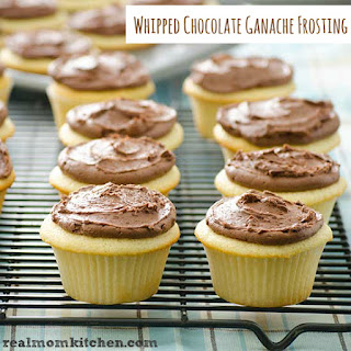 Whipped Chocolate Ganache Frosting.