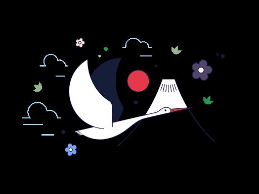 signe-japon-drapeau-mont-fuji-symbole-japon