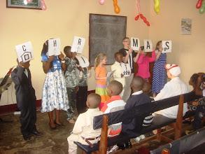 Photo: Part of the children's program on Christmas morning - 2013