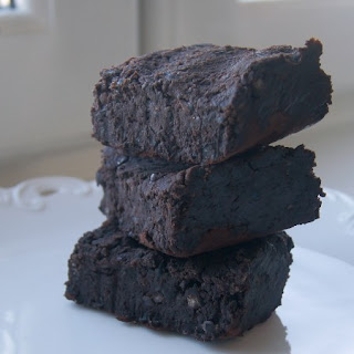 Vegan Black Bean Fudge Brownies