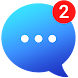 messenger メッセージ、テキスト、ビデオチャット