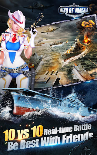 King of Warship:Sail and Shoot  gameplay | by HackJr.Pw 10