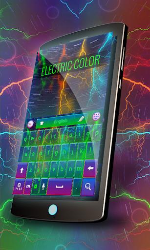 無料个人化Appの電気色のキーボード|記事Game