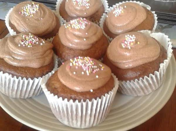 Chocolate Chip Muffins & Cream Cheese Frosting