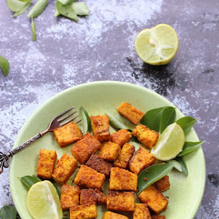 How to make Crisp fried Tofu in 30 minutes.