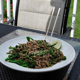Gluten-Free Rapini Noodle Bowl