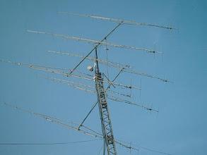 Photo: YU7AA antennas