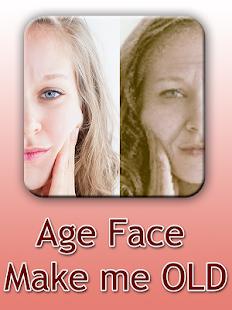Age Face - Old Face Maker 2018 - náhled