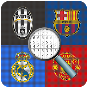 تحميل Color By Number Football Club Pixel Art Apk أحدث إصدار