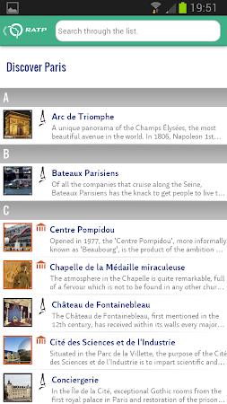 Visit Paris by Metro - RATP 1.6.6 screenshot 300053