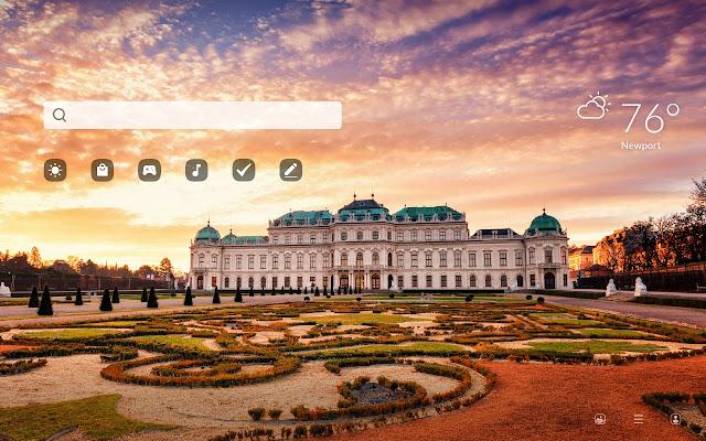 Vienna HD Wallpapers New Tab