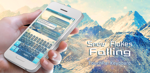 Snow Flake Falling Theme app (apk) free download for Android/PC/Windows screenshot