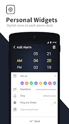 Alarm Clock – Alarm Themes & Bedside Clock APK screenshot thumbnail 5