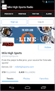 Mile High Sports Radio- screenshot thumbnail