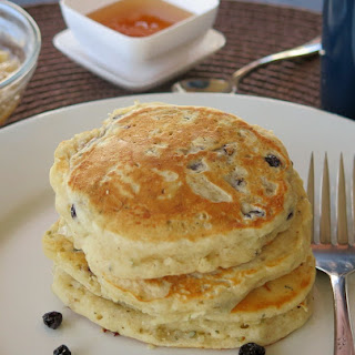 Fruity Hemp Seed Pancakes.