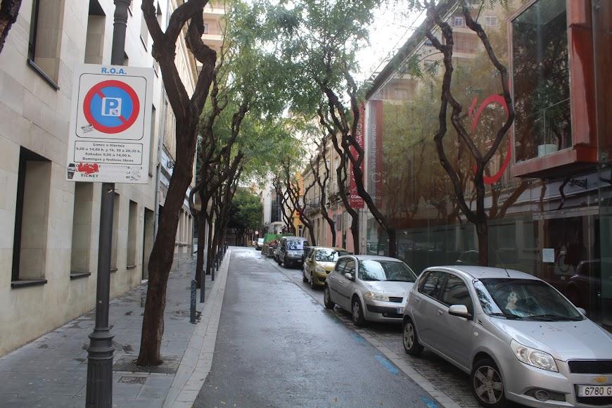 Calle Antonio González Egea.