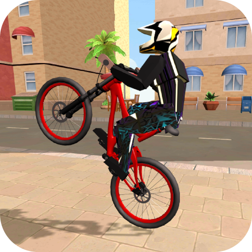 Wheelie Bike 3D - BMX stunts wheelie bike riding